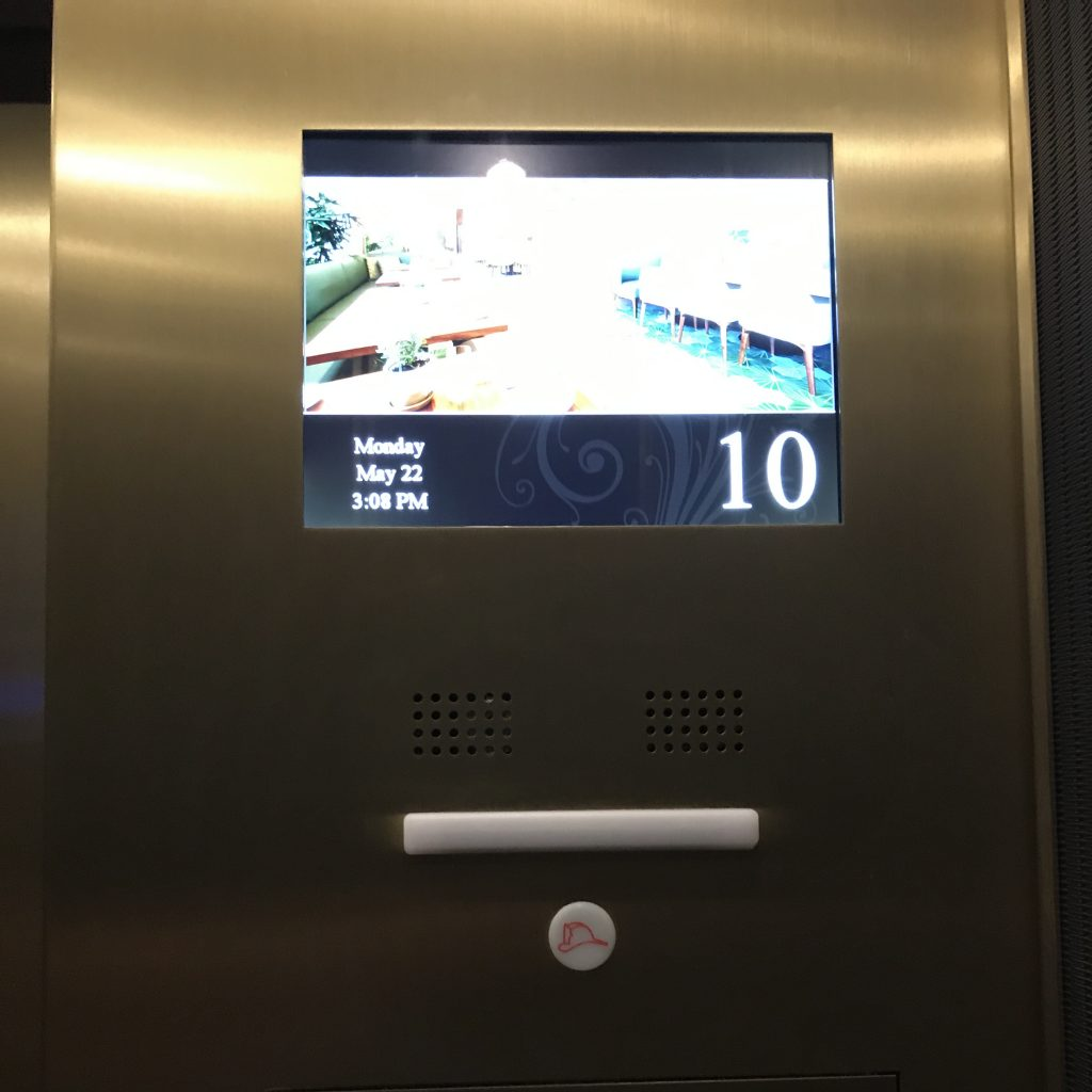 リッツカールトンワイキキ エレベーター2