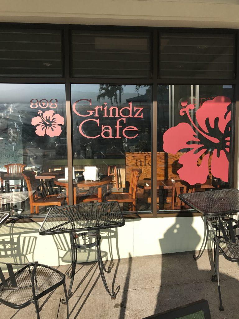ハワイ島 コナ 808 グラインズ カフェ