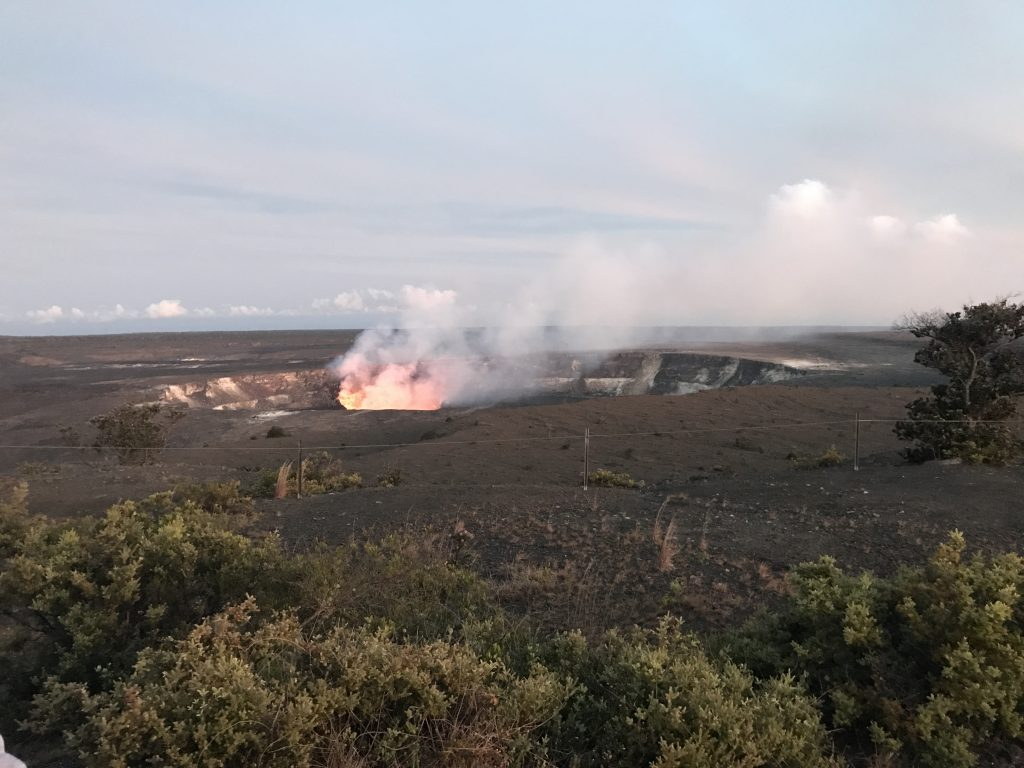ハワイ島 コナ キラウエア火山&星空観測ツアー