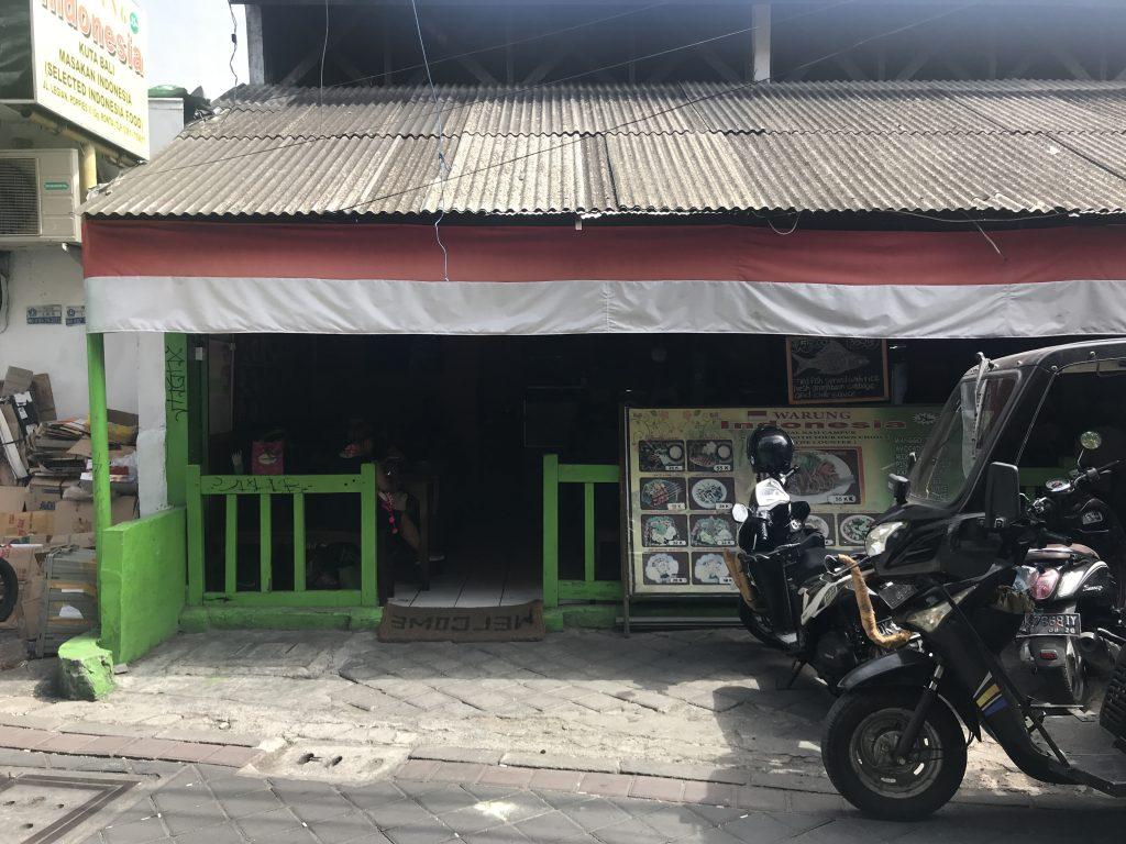 バリ島 クタ ワルンインドネシア