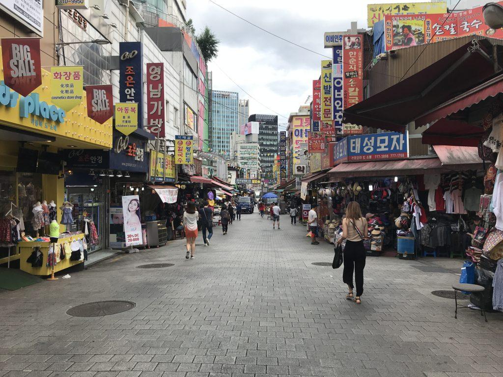 韓国 ソウル 南大門市場