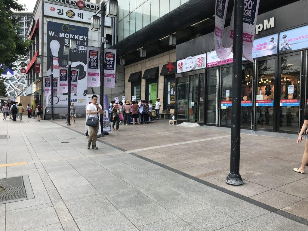 韓国 ソウル 東大門市場