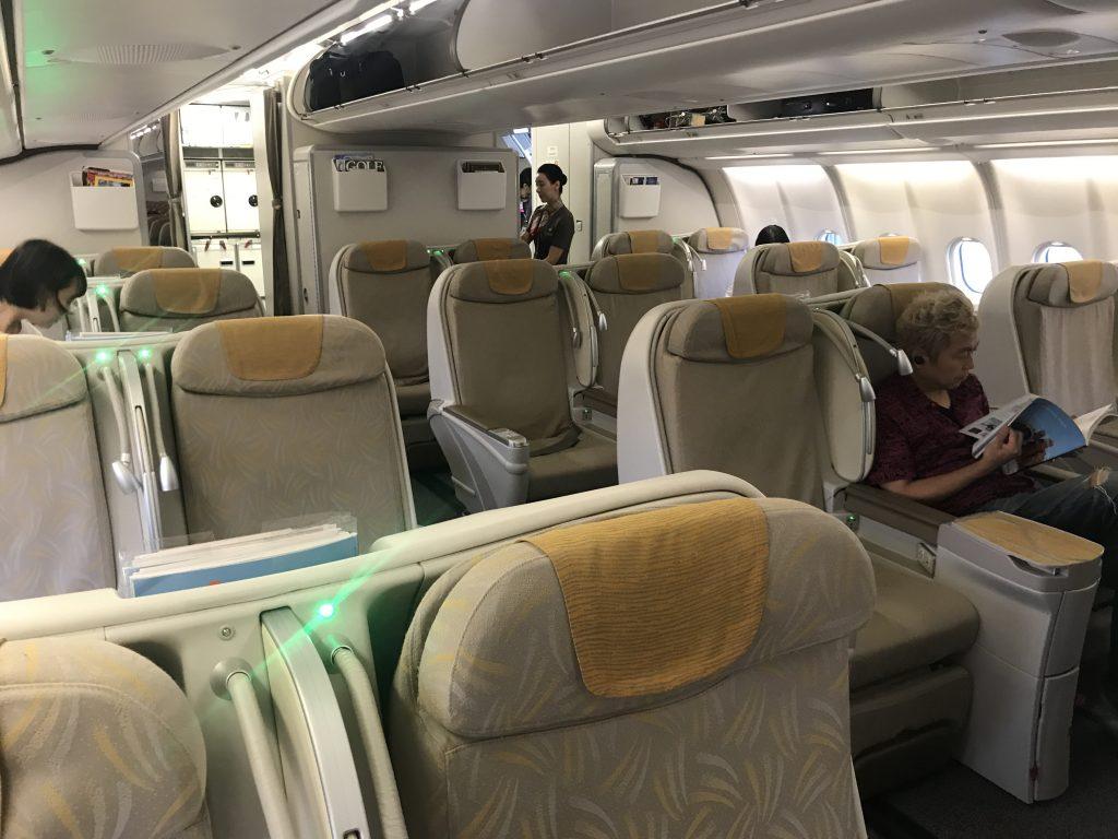 アシアナ航空 ビジネスクラスOZ1065 A330-300
