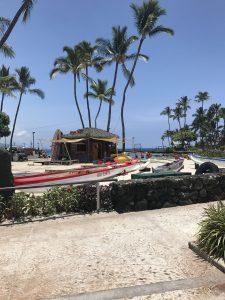 ハワイ島 コナ ビーチ