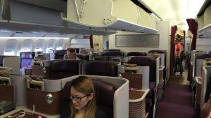 タイ国際航空 ビジネスクラス